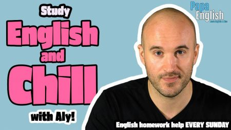 LIVE English Class! – English Teacher Does Your Homework!